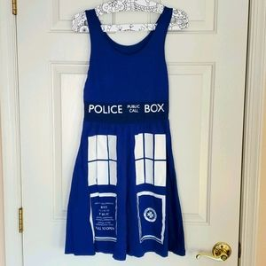 Doctor Who Tardis Dress Her Universe Small